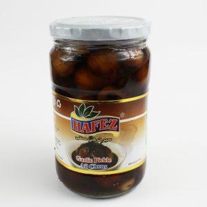 Hafez Brown Garlicc Pickle – 12 perBox – 71602-H