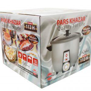 Pars Khazar Rice Cooker 12 portion