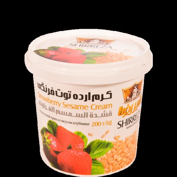 Shireza Cream sesame hazelnut- 200g - 30 perBox - 79836-H